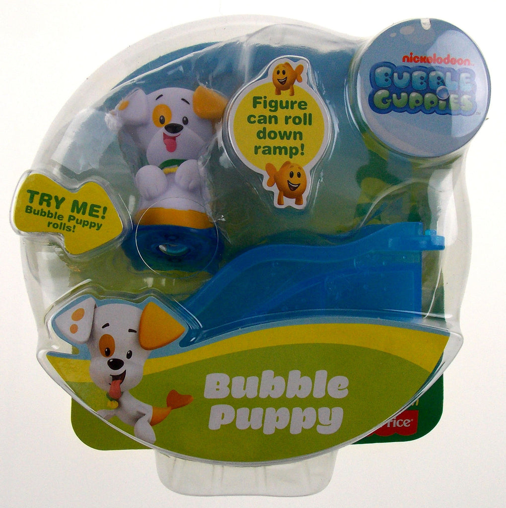fisher price nickelodeon bubble guppies puppy set 2 rolls on ramp