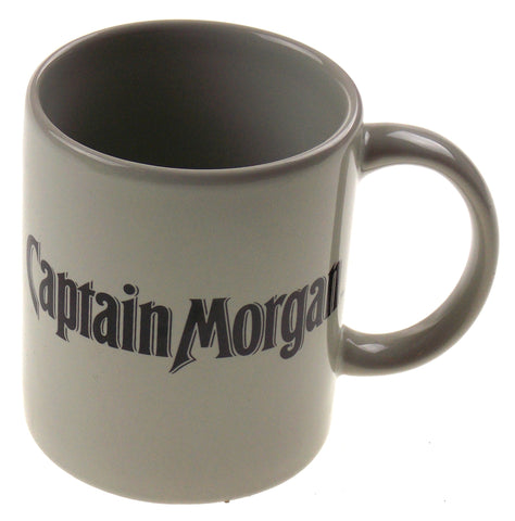 Captain Morgan Rum Seeking First Mate Gray Coffee Mug Tea Ceramic Sexy Woman - FUNsational Finds - 1