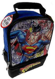 Superman Thermos Insulated Kids School Lunch Bag Box Tote Padded Handle Licensed - FUNsational Finds - 1