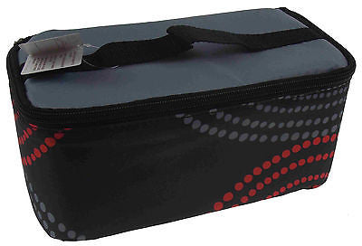 Blue Avocado Insulated Soft Reusable Lunch Box Chil Boxe Black Blue Red Dots NEW - FUNsational Finds - 1