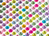 Multi Color Self Adhesive Rhinestone Gems Stick On 5mm 1920 pcs Lot of 5 Crafts - FUNsational Finds - 1