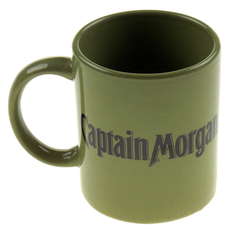 Captain Morgan Rum Seeking First Mate Green Coffee Mug Tea Ceramic Sexy Lady - FUNsational Finds - 1