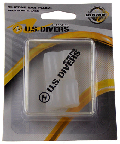 US Divers Silicone Swimming 4 Ear Plugs With Case Swim Moldable Reusable Set 4 - FUNsational Finds - 1