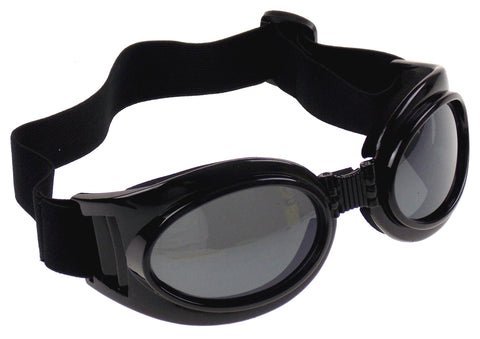 Humvee Folding Biker Goggles Set 2 Maximum UV Protection Adustable Strap Italy - FUNsational Finds - 1