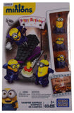 Lot of 3 Minions Vampire Surprise Silly TV Series 3 Mystery Pack Mega Bloks Toys - FUNsational Finds - 2