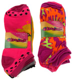12 Pairs No Show Socks Krazisox Women Size 4-10 Owls Chicks Pink Purple Yellow - FUNsational Finds - 1