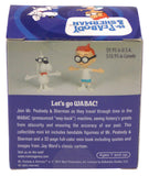 Lot 2 Mr Peabody & Sherman Cartoon Bendable Figurines Book Gift Jay Ward Images - FUNsational Finds - 4