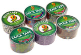 "Lot 6 Assorted Duck Tape Duct 1.88""x10yd Cheetah Lace Flower Purple Ikat Fever - FUNsational Finds - 2"