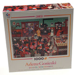 Ceaco Arlette Gosieski Quilts Jigsaw Puzzles 1000 Pieces 27x20 Set 3 Made USA