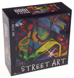 Cardinal Street Art Jigsaw Puzzle Set 3 1000 Pc 20x26 Made USA Abstract Colorful - FUNsational Finds - 4