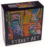 Cardinal Street Art Jigsaw Puzzle Set 3 1000 Pc 20x26 Made USA Abstract Colorful - FUNsational Finds - 3