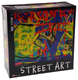 Cardinal Street Art Jigsaw Puzzle Set 3 1000 Pc 20x26 Made USA Abstract Colorful - FUNsational Finds - 2
