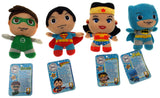 Lot of 4 DC Comics Little Mates Superman Batman Wonder Woman Green Lantern Plush - FUNsational Finds - 2