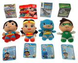 Four Super Hero Set Justice League Batman Superman Wonder Woman Green Lantern