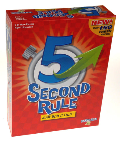 Playmonster 5 Second Rule Card Game Family Teens Party Gift Timer Cards Friends