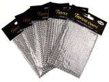 Silver Bling Ribbon Mesh 12x35cm Lot 5 Triveni Crafts Wedding Supplies Wrap Vase - FUNsational Finds - 3