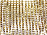 Gold Bling Ribbon Mesh 12x35cm Lot 5 Triveni Crafts Wedding Supplies Wrap Vase - FUNsational Finds - 4