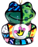 Romero Britto Christmas Ornaments Set 5 Frog Dog House Bear Cat Butterfly Ball - FUNsational Finds - 8