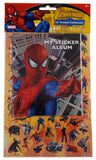 Lot of 6 Marvel Spider Sense Spiderman Lil Sticker Collection Album Rhino - FUNsational Finds - 1