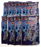 Star Wars Play Pack R2D2 Grab Go Set of 8 Coloring Book Crayons Stickers Favor