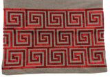 "Kitchen Table Runner Nicole Miller Tan Red Spiral 14"" x 72"" Party Catering Decor - FUNsational Finds - 2"