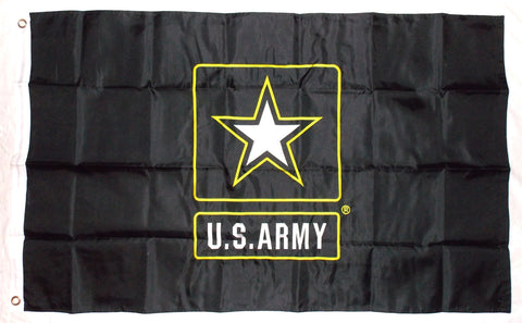 United States Army Logo Double Sided Nylon Embroidered 3x5 Foot Flag Banner US