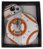 "Star Wars BB-8 Wood Deco Wall Clock 14"" Kids Room Decor Man Cave Xmas Gift Large"