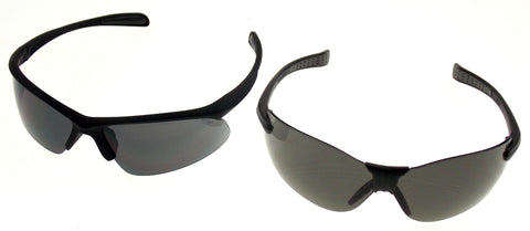 Bone Collector 2 Pair Smoke Lens Safety Glasses Hunt Shoot BCVL70 BCCH70-20ID - FUNsational Finds - 1