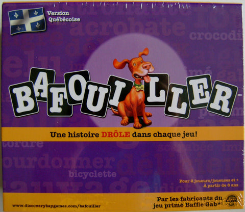 BAFOUILLER Game French Canadian Quebecoise Spelling Grammar Reading Math