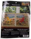 Plaid Bucilla Beach Chair Duo Counted Cross Stitch 2 Scenes 45626 Paul Brent - FUNsational Finds - 1