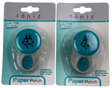 Paper Punch Bells 987A Craft Border System Compatible Tonic Studios Lot 2 Medium - FUNsational Finds - 1