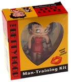 Lot of 2 Betty Boop Man Training Kit Whip Him Good Figurine Book Manual - FUNsational Finds - 2