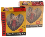 Lot of 2 Betty Boop Man Training Kit Whip Him Good Figurine Book Manual - FUNsational Finds - 1