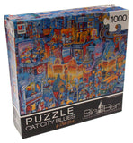 Big Ben Jigsaw Puzzle Set 4 1000 Piece Aimee Stewart Closed Doors Cat City Blues