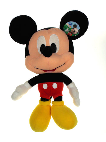 "Mickey Mouse Big Head 18"" Plush Disney Clubhouse Stuffed Animal Doll Toy Large"