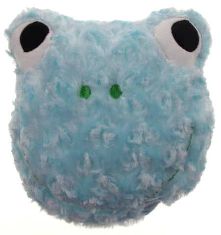 "Blue Frog Pillow Color LED Light Up Flash Plush 9"" Microbeads Home Bedroom Decor - FUNsational Finds - 1"
