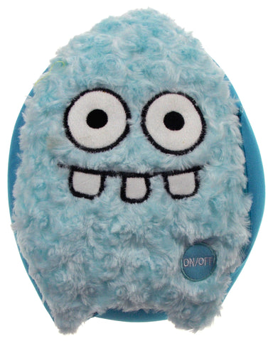 "Blue Rocket Head Pillow Color LED Light Up Flash Plush 10"" Microbeads Home Decor - FUNsational Finds - 1"