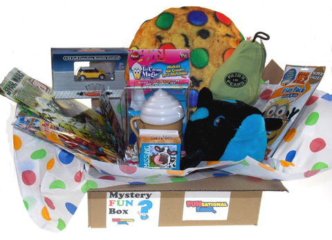 Boy's Mystery FUN Box - 3 Month Subscription - FUNsational Finds - 1