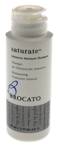 Brocato Saturate Intensive Moisture Hair Shampoo 3 Fl Oz Lot of 8 Travel Size US - FUNsational Finds - 1