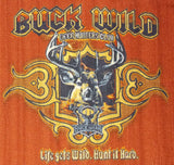 Buck Wild Rug Deer Hunters Club Cabin 39.5 x 59.5 Printed Nylon Non Skid Latex - FUNsational Finds - 2