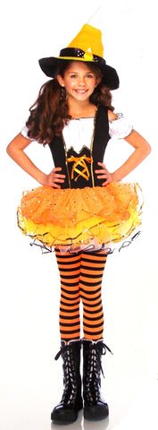 Leg Avenue Candy Spellcaster Girls Halloween Costume Small Cosplay Dress Purim - FUNsational Finds - 1