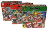 Ceaco Cat Dog Selfies Jigsaw Puzzles 550 Pc 24x18 Set of 3 USA Christmas Animals