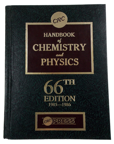 CRC Handbook Of Chemistry And Physics 66th Edition 1985-1986 Weast Astle Beyer - FUNsational Finds - 1