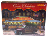 Ceaco Classic Christmas Diner Jigsaw Puzzle 1000 Pc Puzzle 27x19 Pickup Truck US