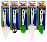 Curious Chef Kids Spatula Ice Cream Scoop Mixing Spoon Pizza Pie Server Set of 5 - FUNsational Finds - 1