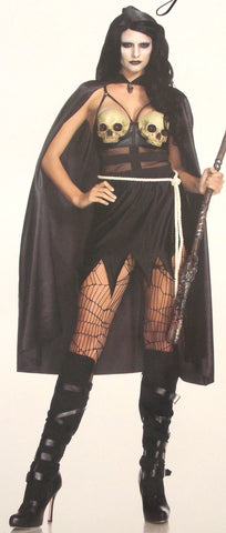 Leg Avenue Death Dealer Small Sexy Halloween Costume Cosplay 85444 Dress Cape - FUNsational Finds - 1