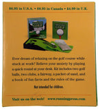 Lot of 2 Desktop Golf Balls Clubs Fairway Sand Book Chris Stone Mini Kit - FUNsational Finds - 2