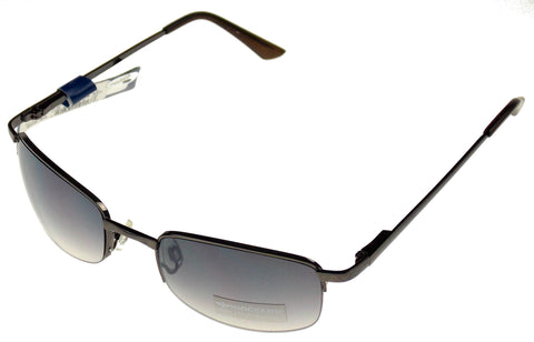 Levi Strauss DOCKERS Sunglasses 100% UV Black Semi Rimless Pilot Metal 57-20-140 - FUNsational Finds - 1
