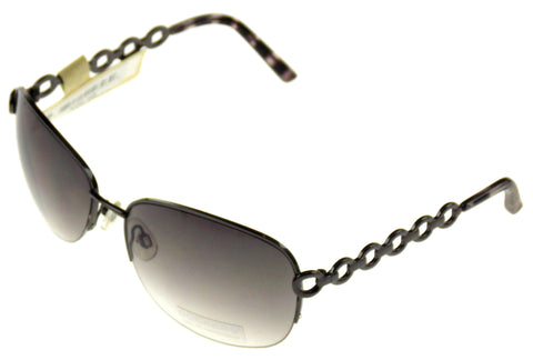 Levi Strauss DOCKERS Sunglasses 100% UV Oval Semi Rimless Brown Metal 65-17-125 - FUNsational Finds - 1
