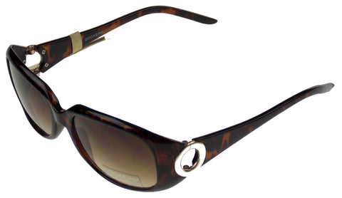 Levi Strauss DOCKERS Women Sunglasses 100%UV Oval Brown Marble Plastic 55-18-135 - FUNsational Finds - 1